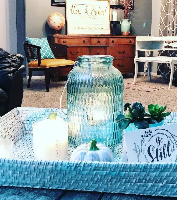 TURQUOISE FALL DECOR